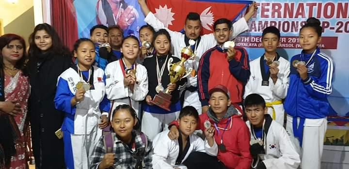 इन्डो- नेपाल तेक्वान्दो प्रतियोगितामा इच्छाकामना तेक्वान्दो डोजांगका सबै खेलाडिले जिते पदक बिहिबार सम्मान गरिने