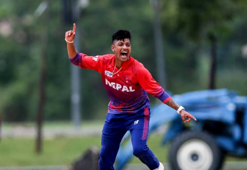 नेपाली स्टार क्रीकेट खेलाडी सन्दिप लामिछानेलाइ कोरोना संक्रमण।